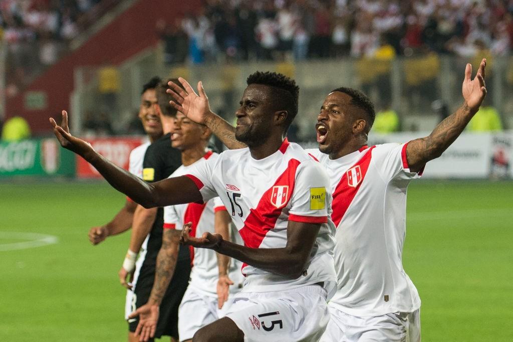 Peru World Cup 2018 celebration