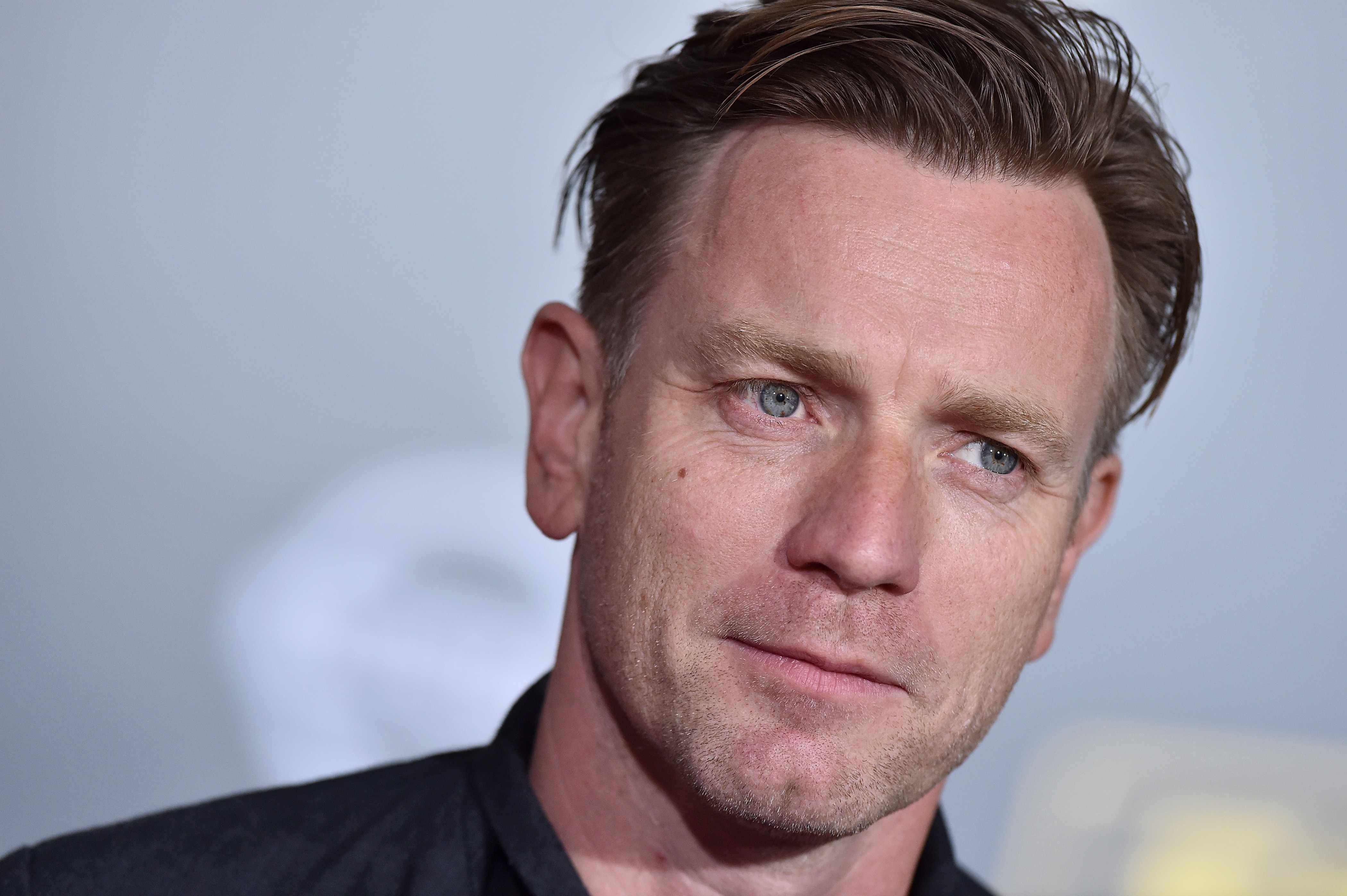 HOLLYWOOD, CA - MAY 10:  Actor Ewan McGregor arrives at the premiere of Disney Pictures and Lucasfilm's 'Solo: A Star Wars Story' at the El Capitan Theatre on May 10, 2018 in Hollywood, California.  (Photo by Axelle/Bauer-Griffin/FilmMagic)  Getty, TL