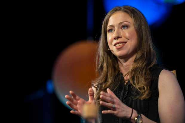 HAY-ON-WYE, WALES - JUNE 2: Chelsea Clinton at the Hay Festival on June 2, 2018 in Hay-on-Wye, Wales. (Photo by David Levenson/Getty Images)