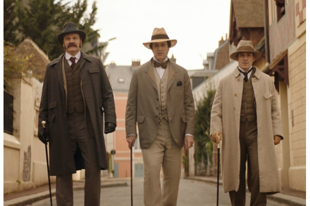 Colin Firth, Rupert Everett and Edwin Thomas in The Happy Prince, Freuds, SL