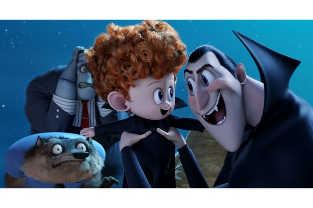 The Third Film In Hotel Transylvania Trilogy Is All About Love Cinemas From July Dracula Voiced By Adam Sandler Back And Spookier Than Ever