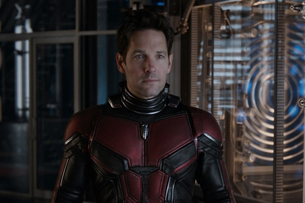 Paul Rudd as Ant-Man/Scott Lang in Ant-Man and the Wasp (Marvel, HF)