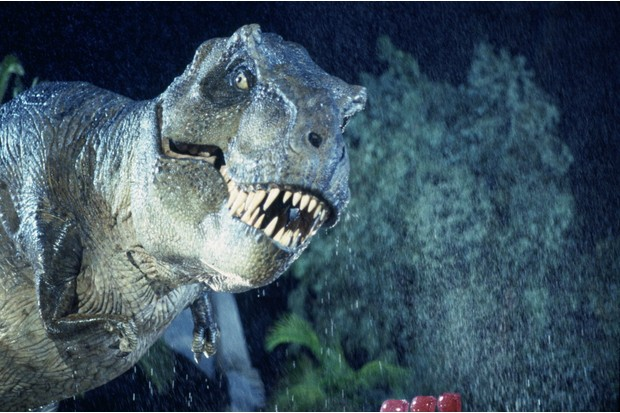 The T-Rex in the original Jurassic Park (Sky, Universal, HF)© 1993 Universal Studios - All Rights Reserved