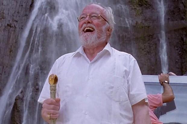 Richard Attenborough as John Hammond in Jurassic Park (Universal, HF)