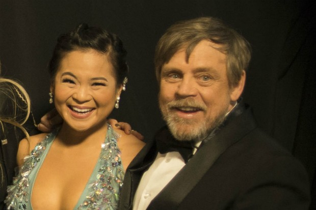 Kelly Marie Tran and Mark Hamill