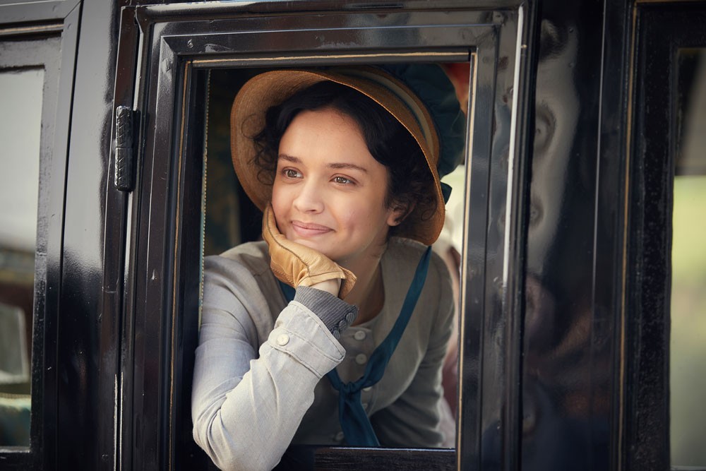 Olivia Cooke as Becky Sharpe in ITV's new adaptation of Vanity Fair (ITV)