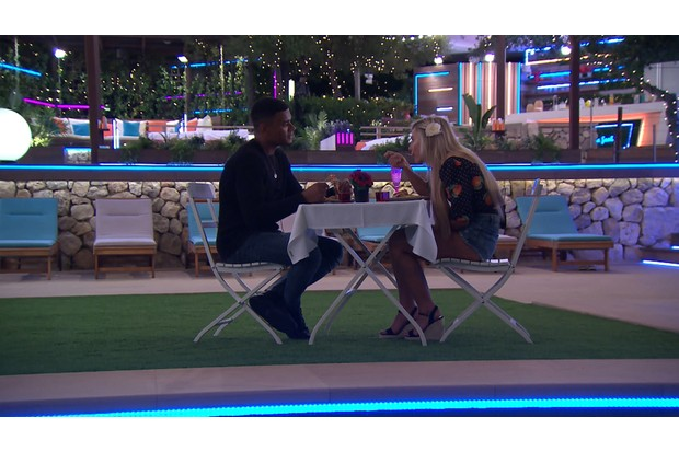 Love Island episode 15 - Wes and Ellie