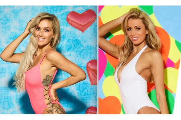 Laura and Olivia - Love Island