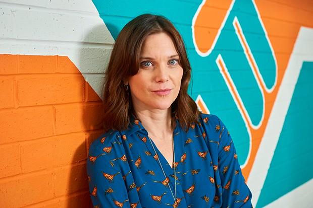 Liz White plays teacher Emma Keane in Ackley Bridge