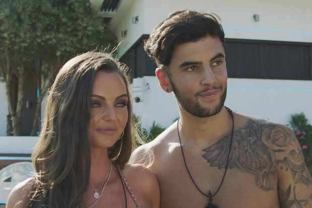 Kendall Rae-Knight and Niall Aslam on Love Island 2018