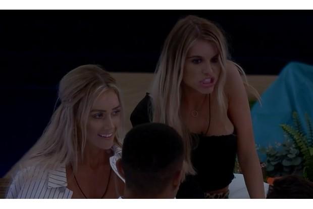 Love Island episode four Hayley Hughes Laura Anderson