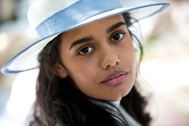 Madeleine Madden plays Marion Quade in Picnic at Hanging Rock