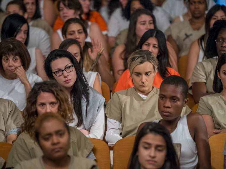 Orange Is the New Black cast members sing show's theme tune in final season teaser