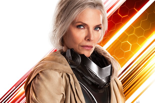 Michelle Pfeiffer as Janet van Dyne/ The Wasp in Ant-Man and the Wasp (Marvel, HF)