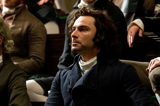 Aidan Turner in Poldark