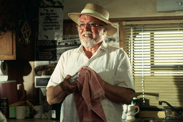 Richard Attenborough as John Hammond in Jurassic Park (Sky, Universal, HF)