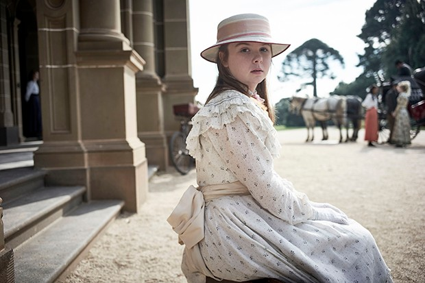 Ruby Rees plays Edith Horton in Picnic at Hanging Rock