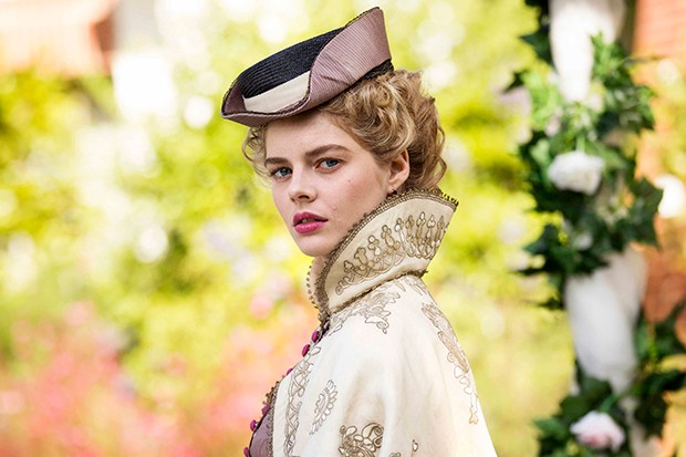 Samara Weaving plays Irma Leopold in Picnic at Hanging Rock