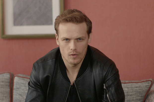 Sam Heughan sits down with RadioTimes.com