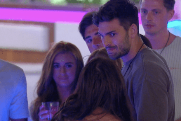 Love Island episode 9 - Rosie Williams and Adam Collard