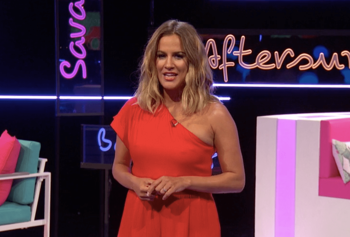 Caroline Flack on Love Island: Aftersun