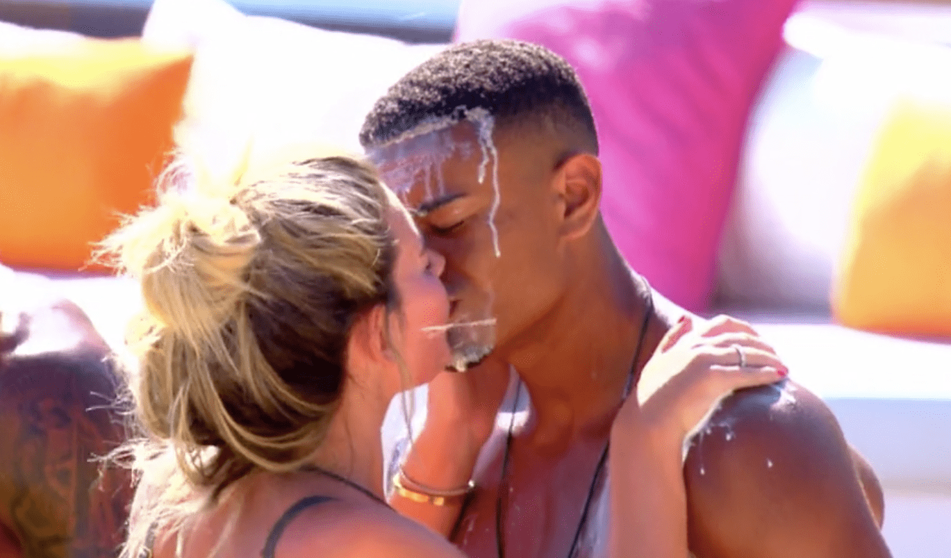 Megan and Wes on Love Island 2018