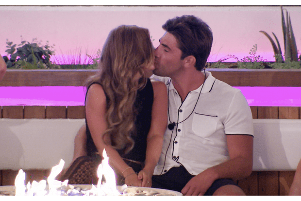 Dani and Jack on Love Island