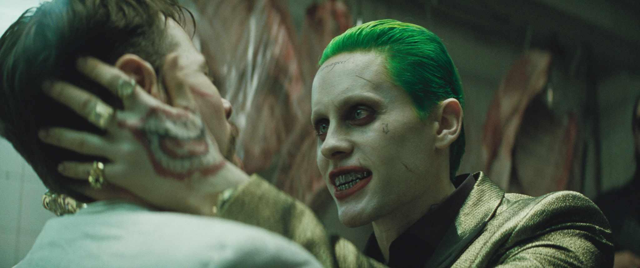 """Jared Leto """"The Joker""""; Sky Pics, Warner Bros, TL"""