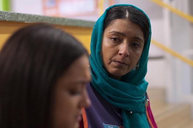 Sunetra Sarker plays Nas's mum Kaneez Paracha in Ackley Bridge
