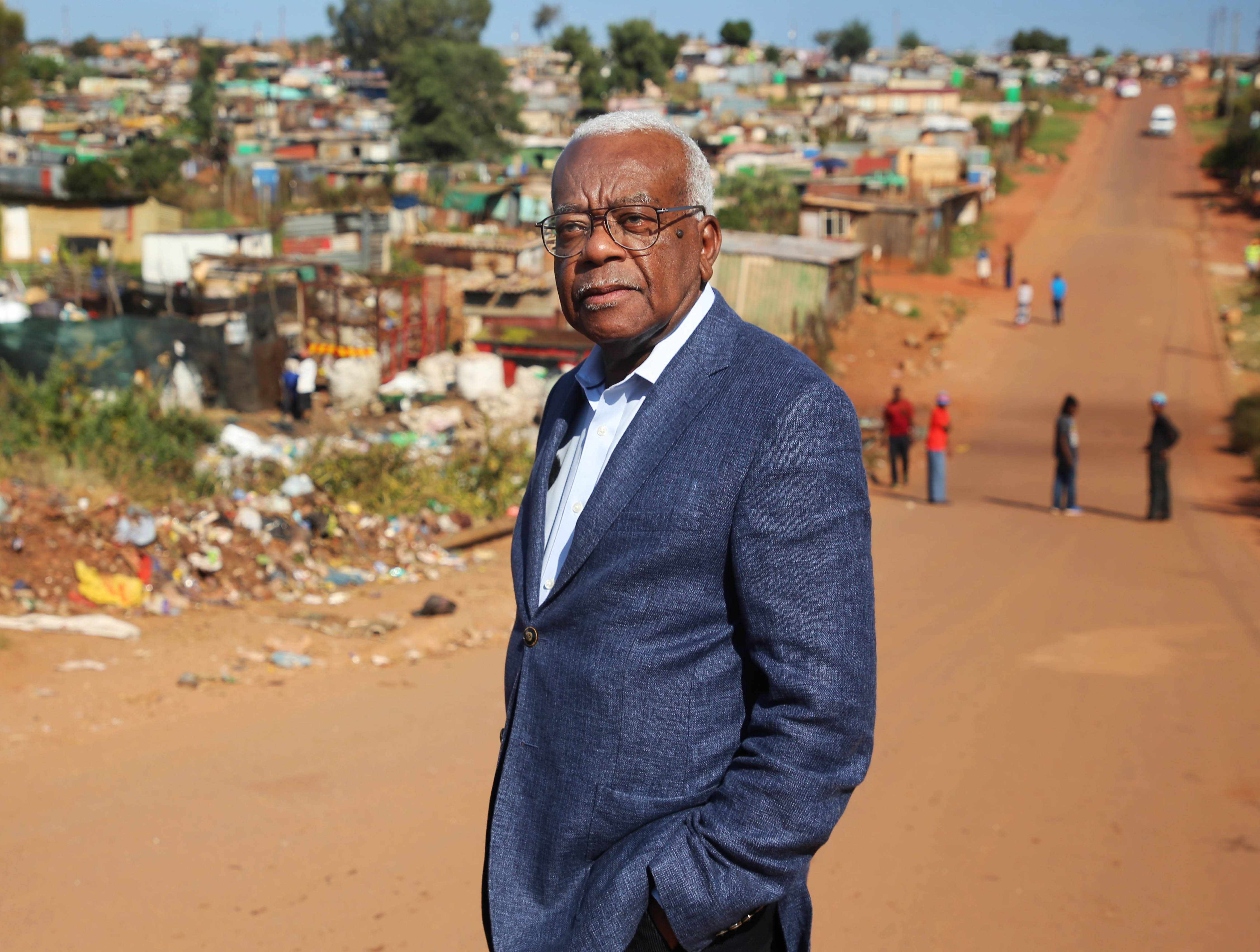 From Shiver Productions    TREVOR McDONALD: RETURN TO SOUTH AFRICA Thursday 19th June 2018 on ITV   Pictured: Trevor McDonald visits Kliptown one of the oldest residential district of Soweto, South Africa    To mark what would have been Nelson MandelaÕs one hundredth birthday, Trevor McDonald is back in the country which he first visited as a journalist at the height of Apartheid.   McDonald was the first journalist to interview Mandela after his release from prison Ð and witnessed history in the making. Since then South Africa has become a nation changed beyond all recognition.   But is it still a land of division, inequality and violent crime Ð or has it turned into the Rainbow Nation Mandela hoped it would become?  For further information please contact Peter Gray 0207 157 3046 peter.gray@itv.com    This photograph is © ITV and can only be reproduced for editorial purposes directly in connection with the  programme TREVOR McDONALD: RETURN TO SOUTH AFRICA or ITV. Once made available by the ITV Picture Desk, this photograph can be reproduced once only up until the Transmission date and no reproduction fee will be charged. Any subsequent usage may incur a fee. This photograph must not be syndicated to any other publication or website, or permanently archived, without the express written permission of ITV Picture Desk. Full Terms and conditions are available on the website www.itvpictures.com