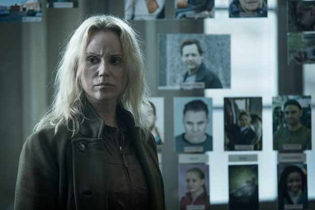 Programme Name: The Bridge - TX: n/a - Episode: n/a (No. 7) - Picture Shows:  Saga Norén (SOFIA HELIN) - (C) Filmlance International AB, Nimbus Film - Photographer: Jens Juncker