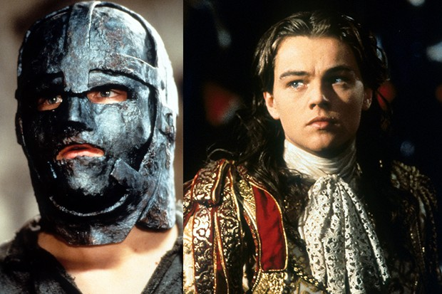 Leonardo DiCaprio in The Man in the Iron Mask, 1998