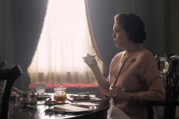 Olivia Colman as Queen Elizabeth II in The Crown series 3 (Netflix)