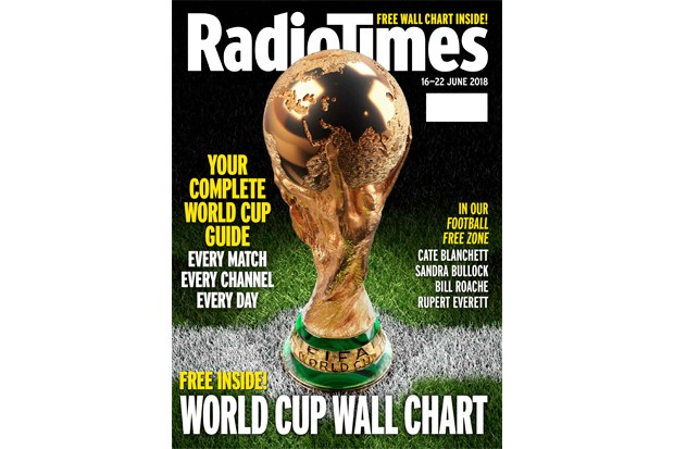 World Cup Radio Times cover