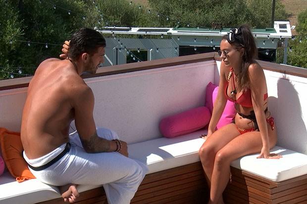 Adam apologises to Rosie, ITV Pictures, SL