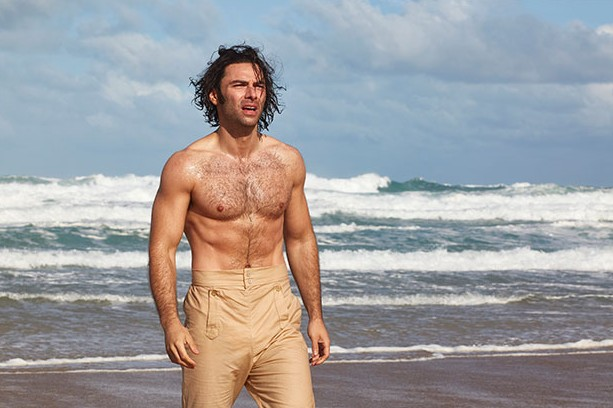 Aidan Turner in Poldark, BBC Pictures, SL