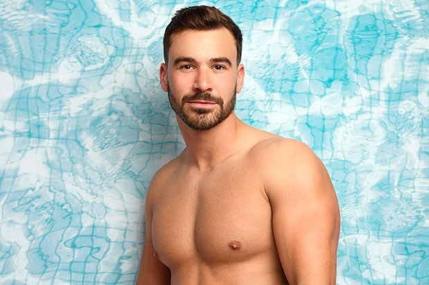Alex Miller on Love Island, ITV Pictures, SL