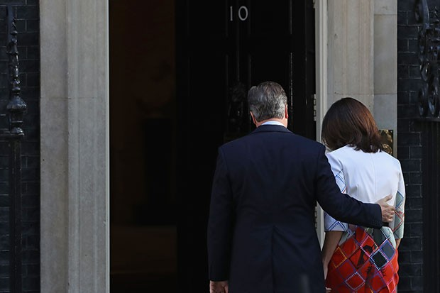 David Cameron resigns, Getty, SL
