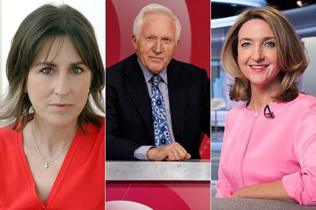 David Dimbleby's Question Time replacement, BBC Pictures, SL