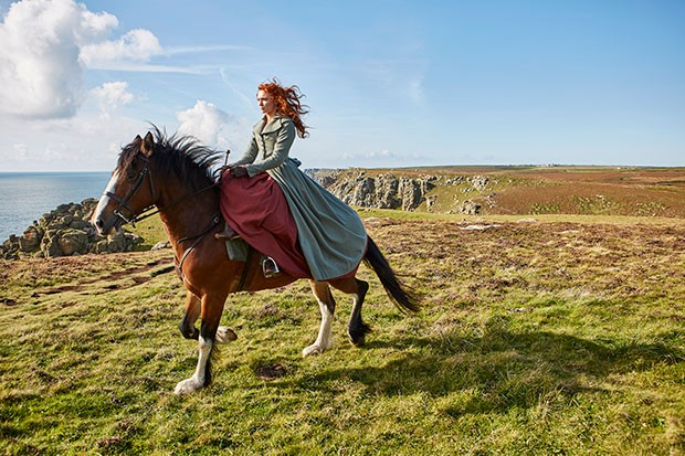 Eleanor Tomlinson in Poldark, BBC Pictures, SL