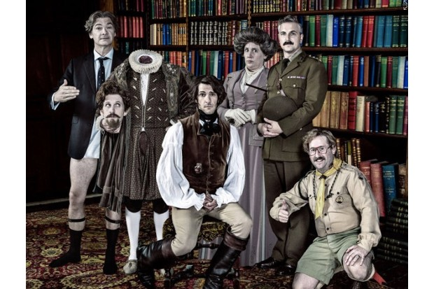 horrible histories ghosts, BBC publicity, BD