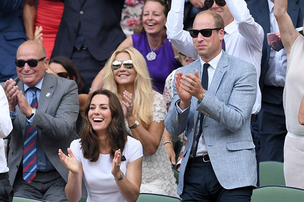 Duke and Duchess of Cambridge at Wimbledon, Getty, SL