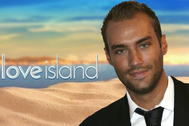 Calum Best in Love Island, Getty and ITV Pictures, SL