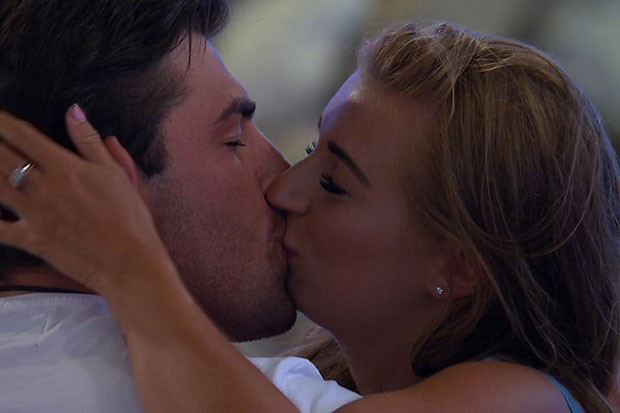 Dani and Jack in Love Island, ITV Pictures, SL
