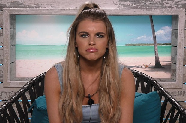 Hayley on Love Island, ITV Pictures, SL