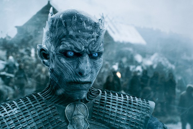 The Night King and the White Walkers in Game of Thrones (HBO, HF)