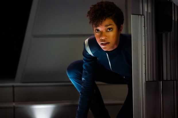 Sonequa Martin-Green as First Officer Michael Burnham