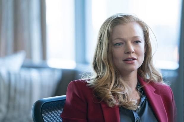 Shiv Roy, played by Sarah Snook (Sky, JF)