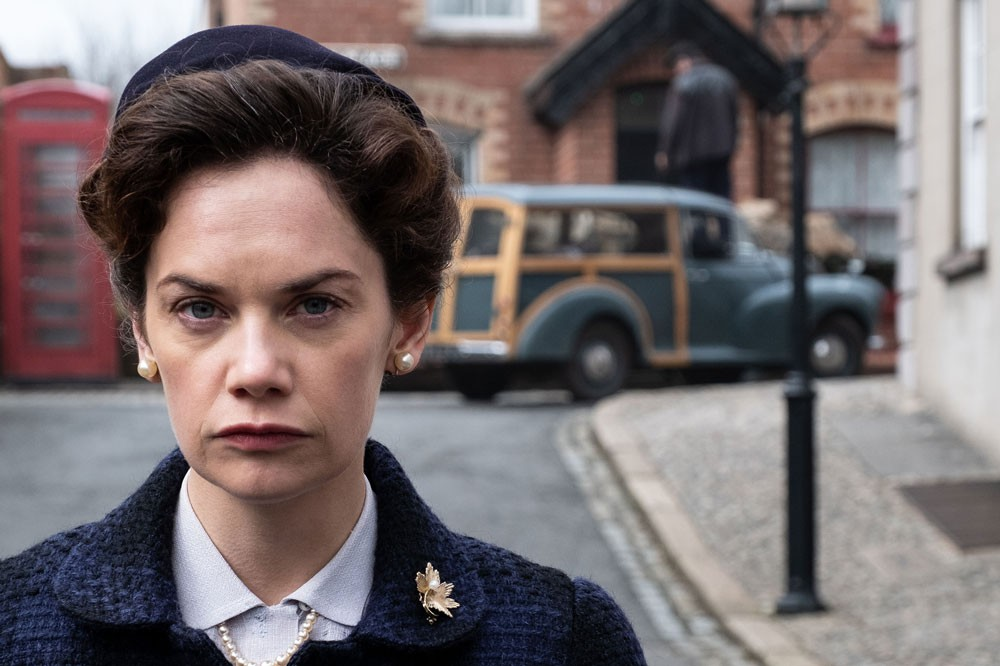 Ruth Wilson in Mrs Wilson (BBC)