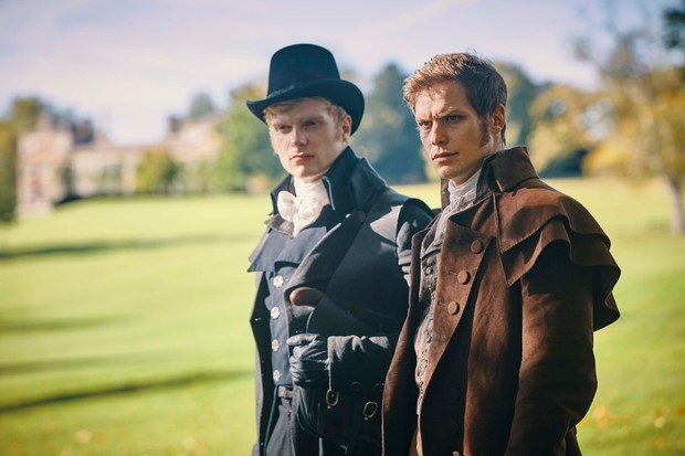 WARNING: Embargoed for publication until 00:00:01 on 17/07/2018 - Programme Name: Poldark - Series 4 - TX: n/a - Episode: Poldark S4 - EP7 (No. 7) - Picture Shows: ***EMBARGOED 17TH JULY 2018*** John Craven (CHARLIE FIELD, Monk Adderley (MAX BENNETT) - (C) Mammoth Screen - Photographer: Mike Hogan